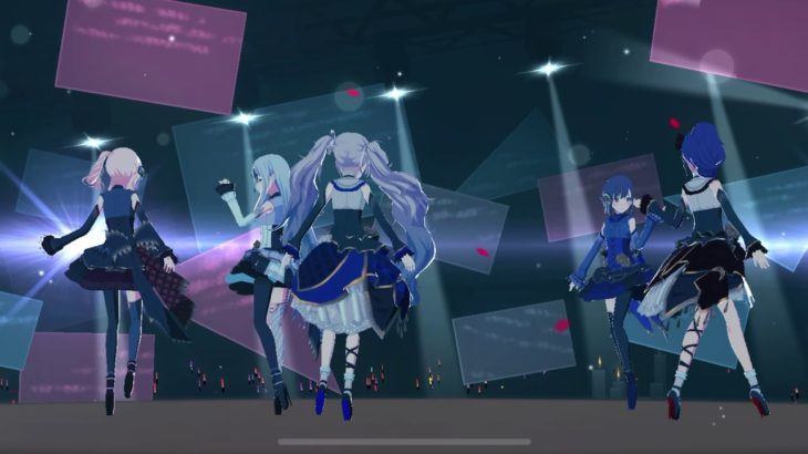 プロジェクトセカイ PROJECT SEKAI Kuyamu to Kaite Mirai – 25ji, Night Code de. Virtual Live [CENTER CAM]